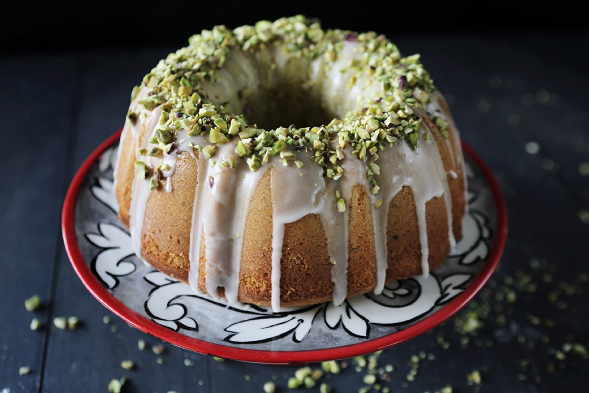Orange Blossom Pistachio Bundt Cake Thyme Amp Temp